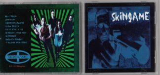 SKINGAME: S/T CD + free sticker. electronic Heavy rock w. melodic guitar. Nine Inch Nails, Marilyn Manson. Check sample