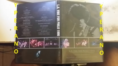 L.A Vibe For Philo 1996 double DVD. ultra RARE. A celebration of the life of Phil Lynnot (THIN LIZZY). Ultra rare Double DVD-R
