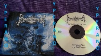 RAVENTHRONE: Endless Conflict Theorem CD PROMO (mint). Black metal w. European Folk n a Gothic twist.