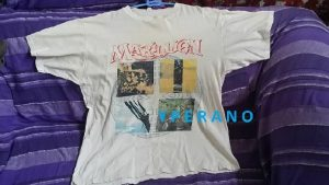 Marillion T-Shirt Seasons End with Tour dates July 1990. RARE. 1 French, 3 UK tour dates