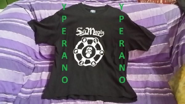 Six Magics T-Shirt. Chilean Power Metal
