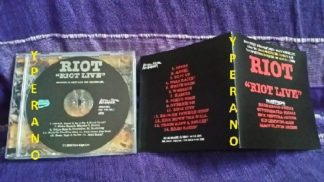 RIOT: Riot Live CD Hard Rock kings. 14 songs from the '80 + '81 UK gigs. +2 bonus songs