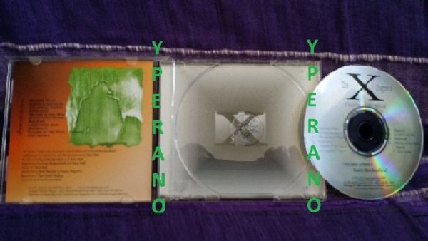 Scott ROCKENFIELD (Queensryche drummer): The X Chapters (soundtrack) CD. 1st press original 2002 different covers / artwork.