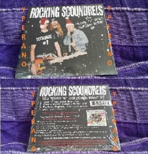 ROCKING SCOUNDRELS: All In The Name Of Rock n Roll CD AC/DC meets The Who and Slade.