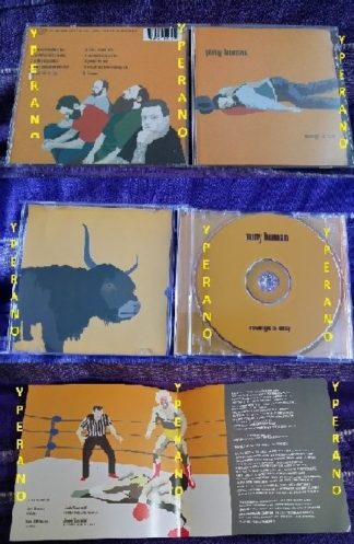 PUNY HUMAN: Revenge is Easy CD. stoner hard rock (Kyuss, Black Sabbath w. Ozzy) + Aerosmith cover. Check audio