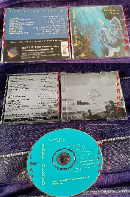 RARE BLEND: Evolution Theory CD Jazz/Fusion [Pink Floyd, The Who, Yes,  Planet X, Niacin]  Check samples