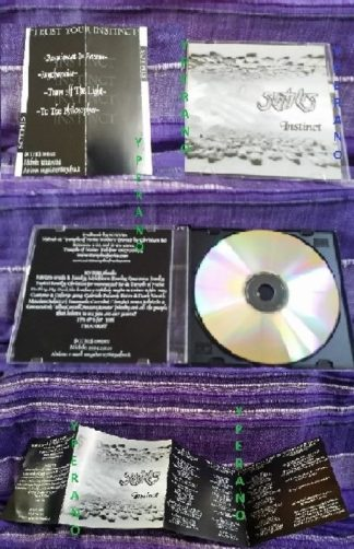 Sawthis / SOTHIS: Instinct CD PROMO. Techno-Thrash. Free for orders of £18+