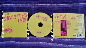 The SOVIETTES: LP III CD. Proper Punk Rock spiced up faster version of Green Day. CHECK VIDEO
