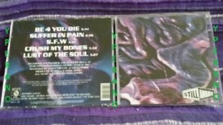 STILL ANGRY: Be 4 you die CD. A la Biohazard, Sick Of It All. Check samples