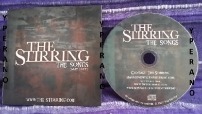 THE STIRRING: The songs CD, rare, ltd, self released. Check sampes + videos. Alternative / Classic Rock / Rock.