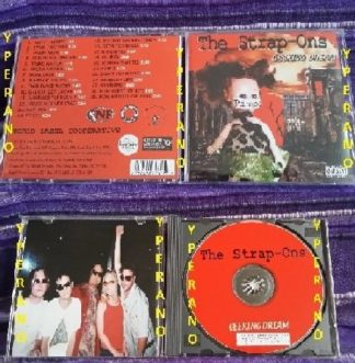 THE STRAP ONS: Geeking Dream CD. The Sex Pistols etc. Check all samples
