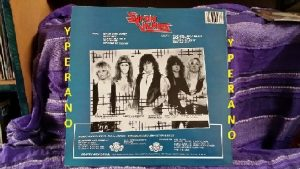 SYRON VANES: Revenge LP 1986 Top Swedish Heavy Metal. Check audio