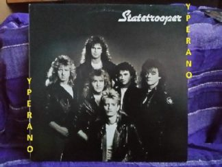 STATETROOPER: LP s.t, 1st, debut. MSG singer Garry Barden, members of Praying Mantis, Tank, Weapon, Wildfire