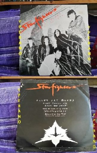 """STARFIGHTERS: Alley Cat Blues 12"""" [Hard Rock AC/DC type w. members of the Young family] Check sample"""