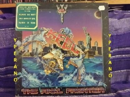 KEEL: The final frontier PROMO LP. SIGNED, AUTOGRAPHED. Best voice in Metal. CHECK VIDEOS