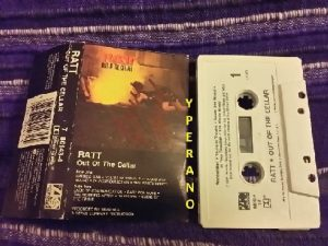 RATT: Out of the Cellar [Tape] SIGNED, AUTOGRAPHED. Check videos!