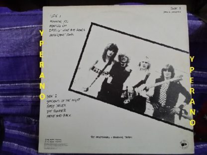 STAMPEDE: The Official Bootleg LP. mint condition. Top NWOBHM. Live (Reading & Mildenhall Rock Festivals)