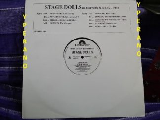"STAGE DOLLS: PROMO 12"" UK. Stand by you, Life in America, Money, Down on Me"
