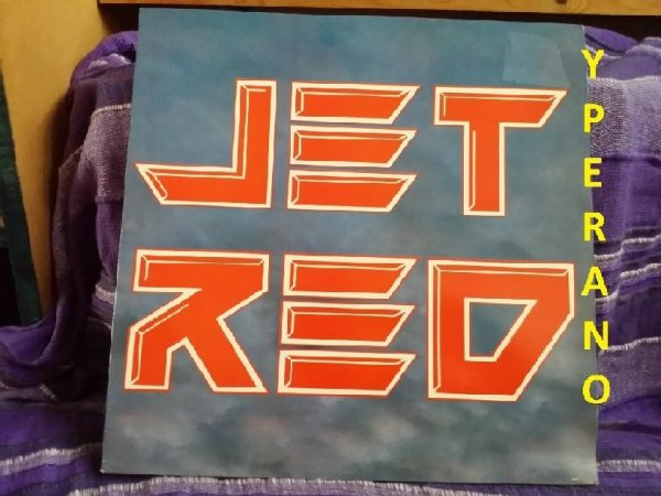 JET RED: Jet Red LP SIGNED, AUTOGRAPHED. Check audio samples.Winger, Firehouse, Trixter, Fastway, Katmandu, Damn Yankees, Ratt