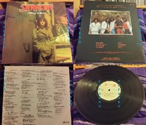 SARACEN: Change of Heart LP 1984 Roadrunner Records with inner. Check videos