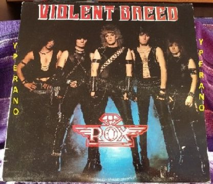 ROX: Violent Breed LP Classic album. Includes Love Ya Like a Diamond. Check audio. Highly recommended.