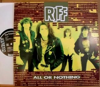 "RIFF: All or Nothing 12"" EP. Small Faces fans, great cover song! Crash N' Burn members. Poppish Hard Rock. Check video"