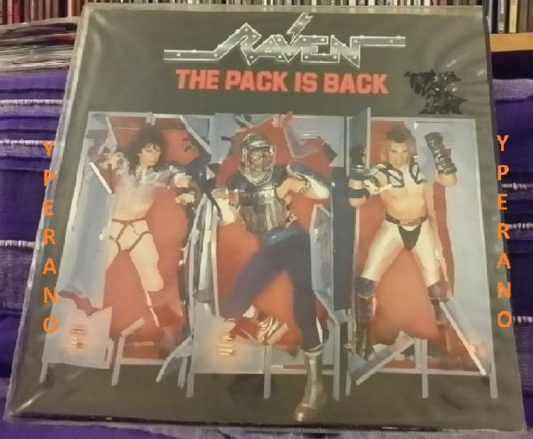 RAVEN: The pack is back LP Highly recommended N.W.O.B.H.M.