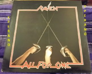 RAVEN: All For One LP. Neat Records, with impressive inner. Check samples