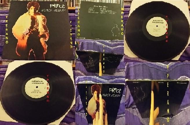 PRINCE: Black album LP 1988 bootleg RiKardo Hammmond Mr X Records (RDLP  101)  Check samples