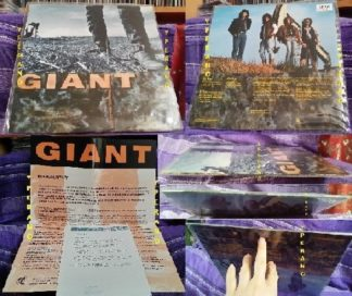 GIANT: Last Of The Runaways LP + PROMO POSTER biography + Promo info sheet. Best Melodic Hard Rock A.O.R. Check videos