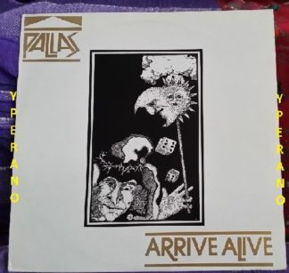 PALLAS: Arrive Alive LP. Marillion, Pendragon, etc. Check samples