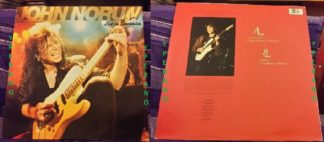 """John NORUM: Live in Stockholm 12"""" EP. Europe guitarist, live 1988! + Thin Lizzy cover. Check audio"""