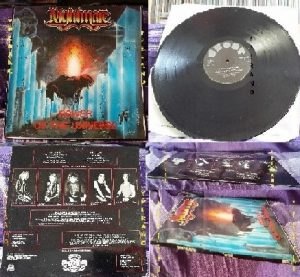 NIGHTMARE: Power Of The Universe LP 1985. Traditional Heavy Metal masterpiece. Check video