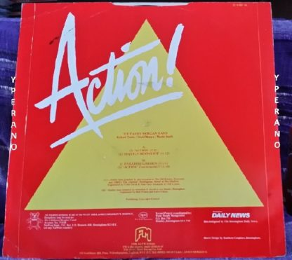 "The TANDY MORGAN BAND: Action 12"" ex keyboardist of rock band Electric Light Orchestra (ELO). 4 songs. Check samples"