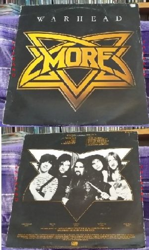 MORE: Warhead LP. UK print 1981. Great N.W.O.B.H.M. Check samples