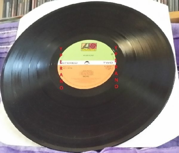 MORE: Warhead LP. UK print 1981. Great N.W.O.B.H.M. Check samples