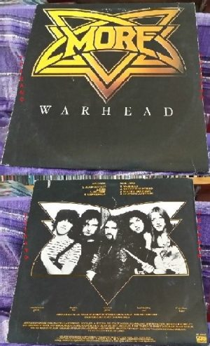 MORE: Warhead LP. USA print 1981. Great N.W.O.B.H.M. Check samples