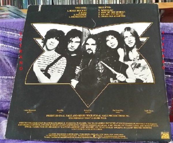 MORE: Warhead LP. USA print 1981. Great N.W.O.B.H.M. Check samples