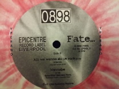 "0898: Fate 7"" unbelievable SPICE GIRLS ""Wannabe"" cover! ULTRA RARE splattered vinyl"