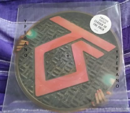 "TWISTED SISTER: Leader of the pack 10"" Shaped PICTURE DISC. + I wanna rock (with video intro talk). Check videos"
