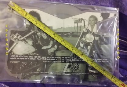 """McAuley Schenker Group: Anytime 10"""" picture disc rare MSG. Check video!"""