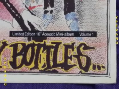 "The DOGS D AMOUR: a graveyard of empty bottles 10"" Rare limited edition acoustic album 8 songs. Check audio"
