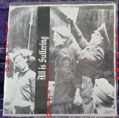 """ALL IS SUFFERING 7"""" Ultra Rare US Death Grind. Pressed in 100 copies! Check audio."""