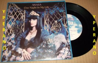 "AKASA: One Night In Life 7"" Euro Acid House. Check video. Indian beauty! Very cool looking"