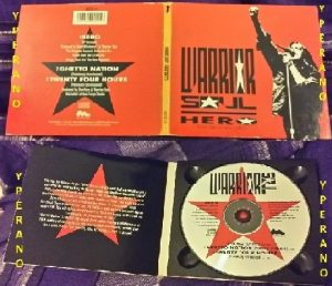 WARRIOR SOUL: Hero CD digipak (1992) RARE. + 2 previously Unreleased / Joy Division cover! Check videos