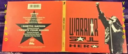 WARRIOR SOUL: Hero CD digipak (1992) RARE. + 2 previously Unreleased / Joy Division cover! Check videos
