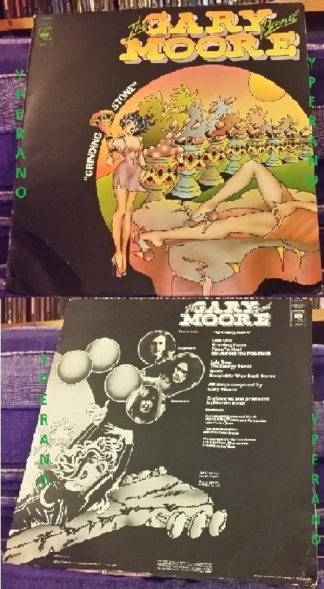 GARY MOORE band: Grinding Stone LP UK original 1973, Mint condition. Check the whole album.