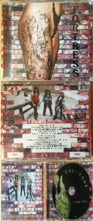 FORTRESS: Magic Touch CD Rare German Epic Heavy Metal, Hard Rock/Metal. Check samples