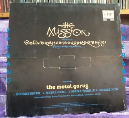 "The MISSION / The Metal Gurus: Deliverance / Blockbuster, Metal Guru, Mama Weer All Crazee Now 12"" + band poster. Check videos"