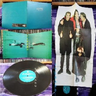 "The MISSION: Into The Blue (First Avenue Mix) 12"" gatefold sleeve + huge band poster. Check videos. Great Goth"